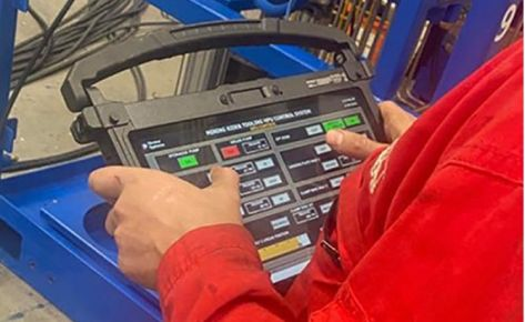 Specialised Hydraulic Control Panel